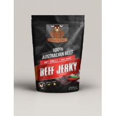 Hot Chilli Beef Jerky 200g