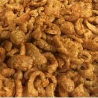 Keto Diet Unseasoned Gluten Free Pork Rind Crackle 1kg Bulk Pack